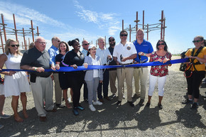 Jone Beach Ribbon Cutting