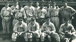 Baseball players, 1941 Fort Niagara