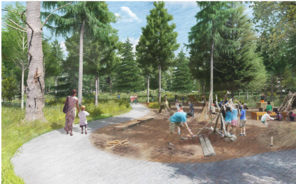 Autism Nature Trail - project rendering