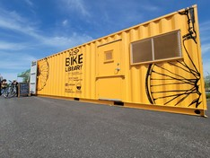 Shirley Chisholm State Park Bike Library