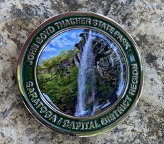 Geocaching Coin, Thacher State Park