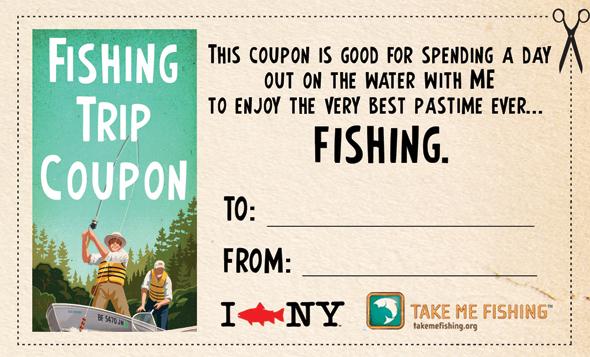 Fishing coupon