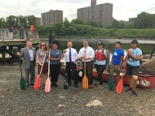 Bronx River Announcement