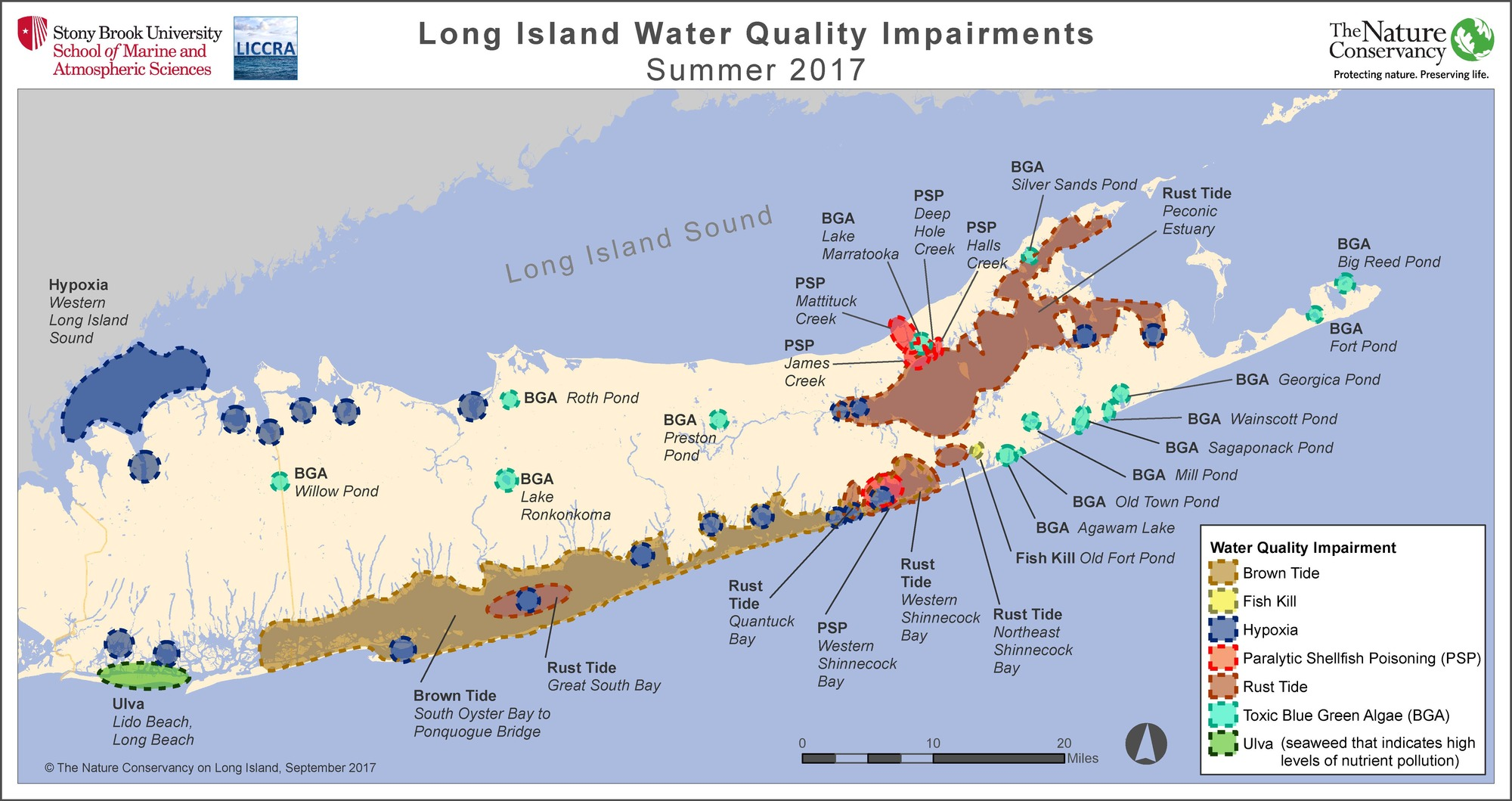 LI Water Quality Impairments 2017