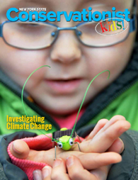Conservationist for Kids October 2017 Cover