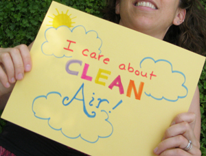 I care about clean air