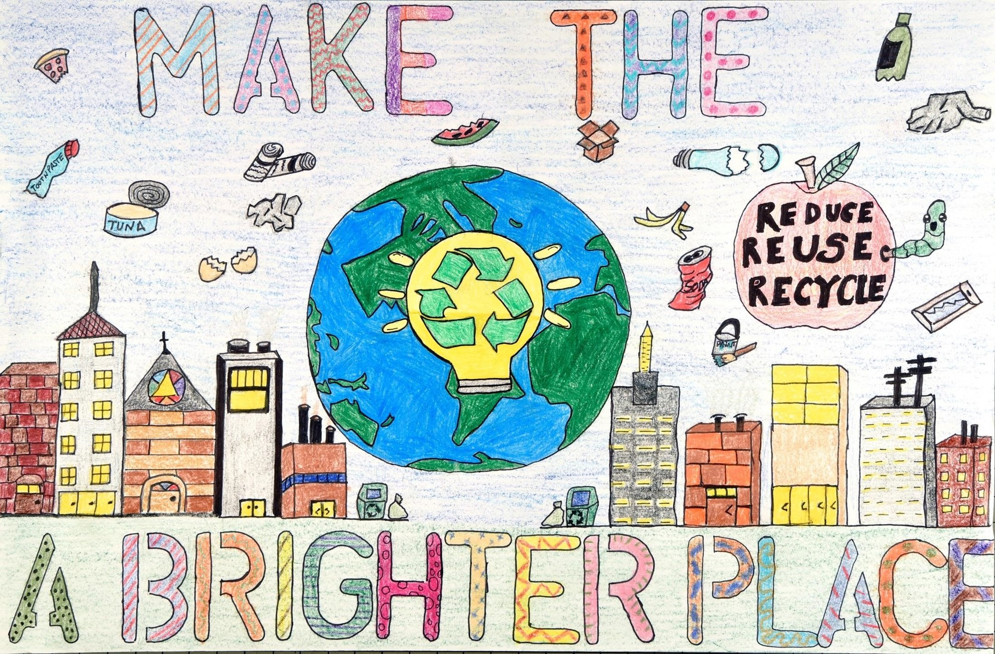 Make the Earth a Brighter Place