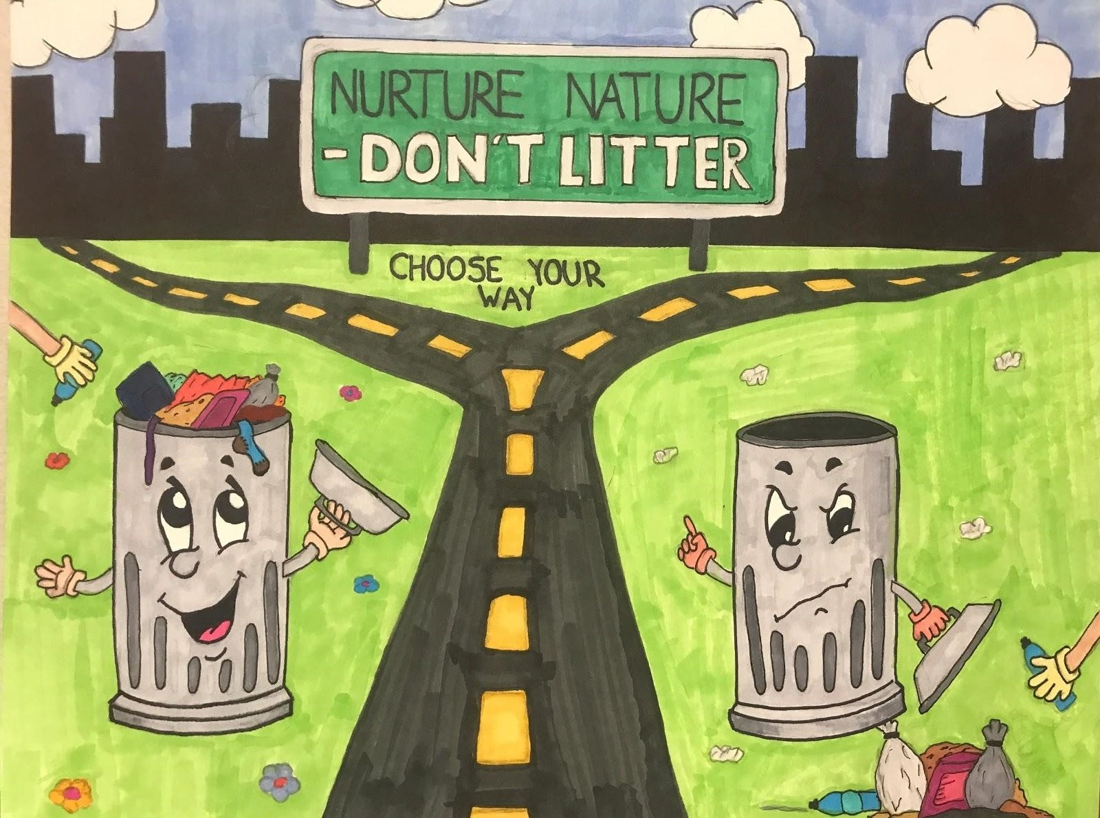 Nurture Nature, Don't Litter
