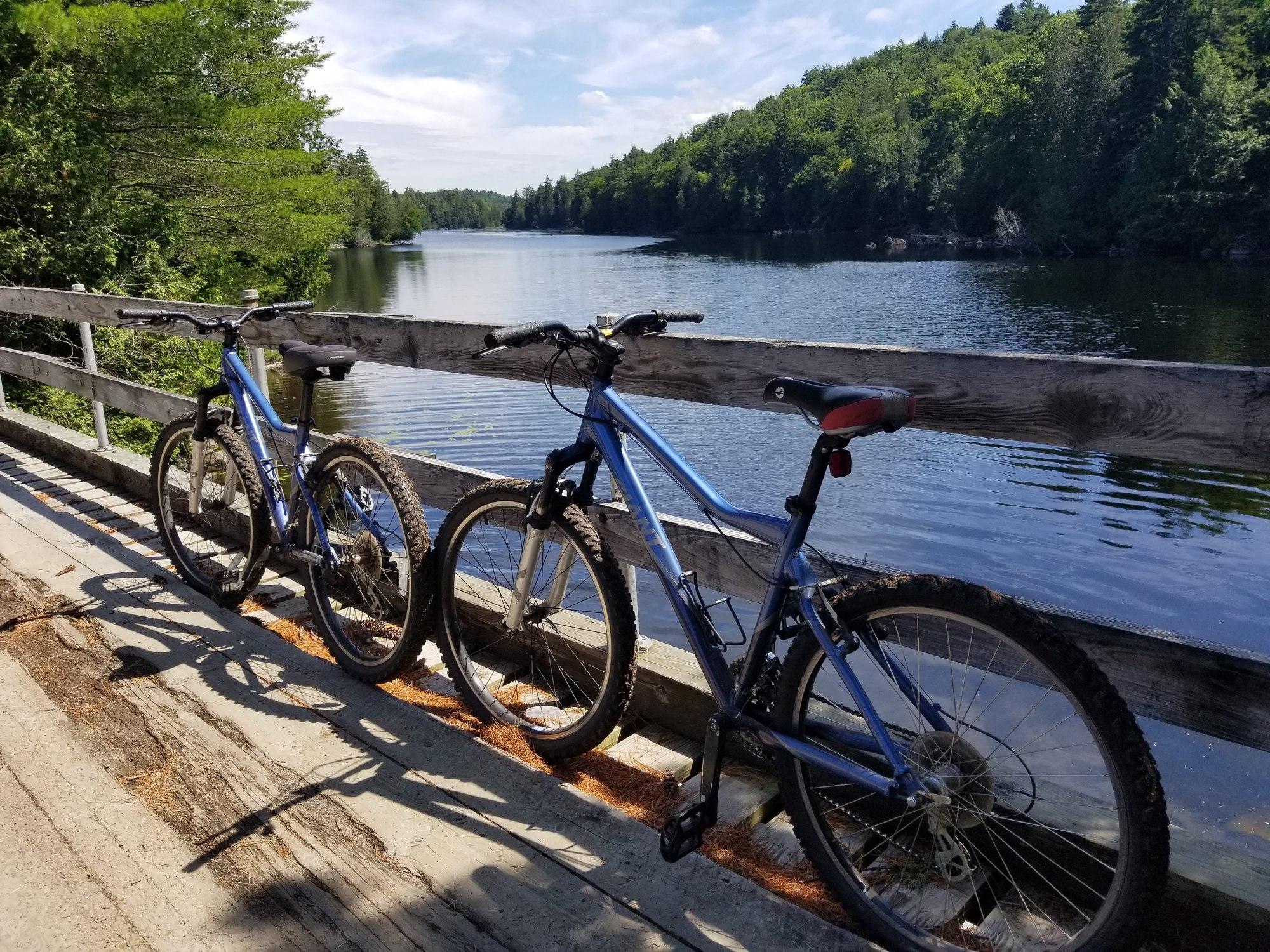 Camp Santanoni Bike Ride