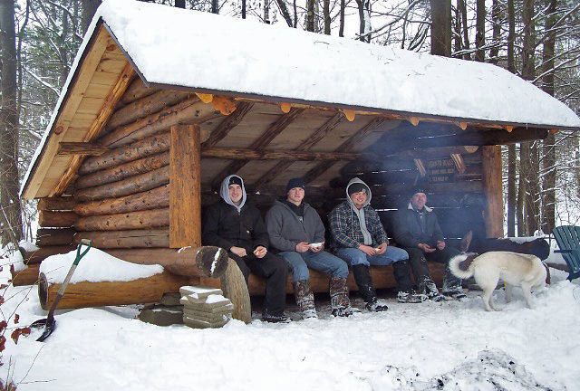 lean-to camping