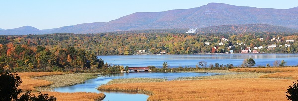 Tivoli Bays is one of the four Hudson River National Estuarine Reserach Reserve tidal wetland sites