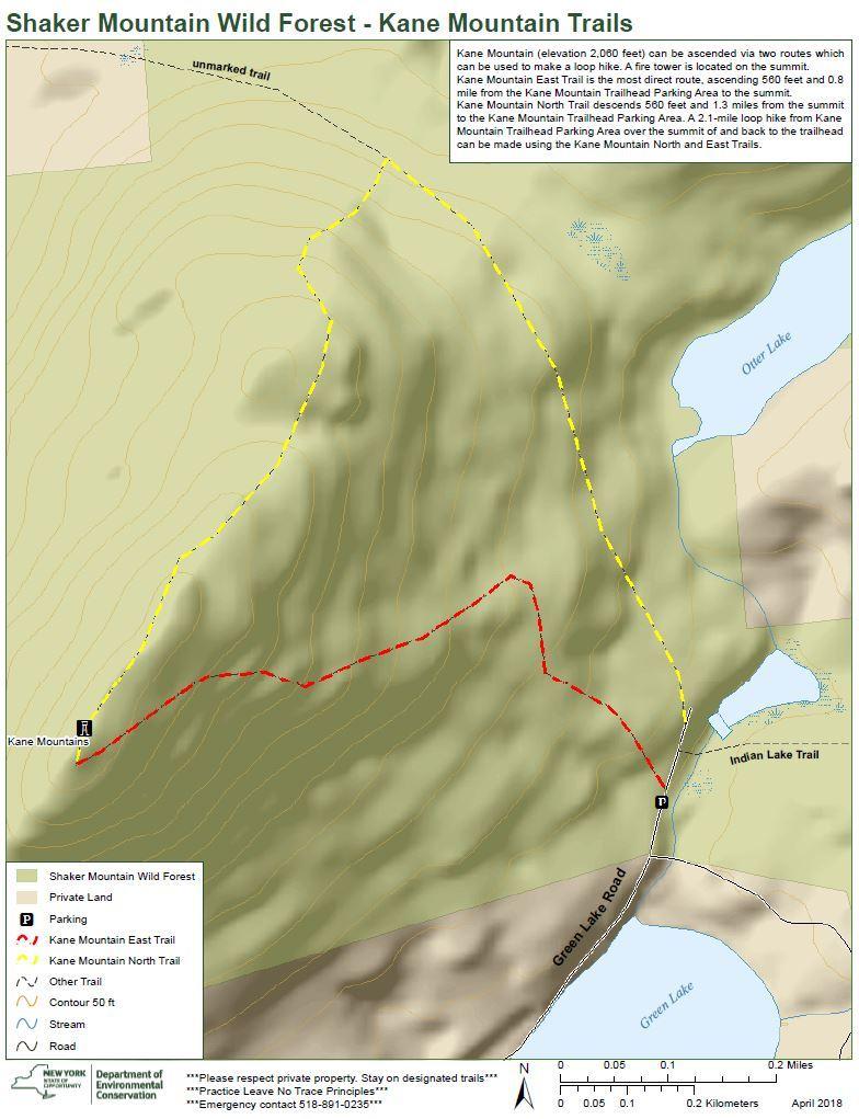 Kane Mountain Trail