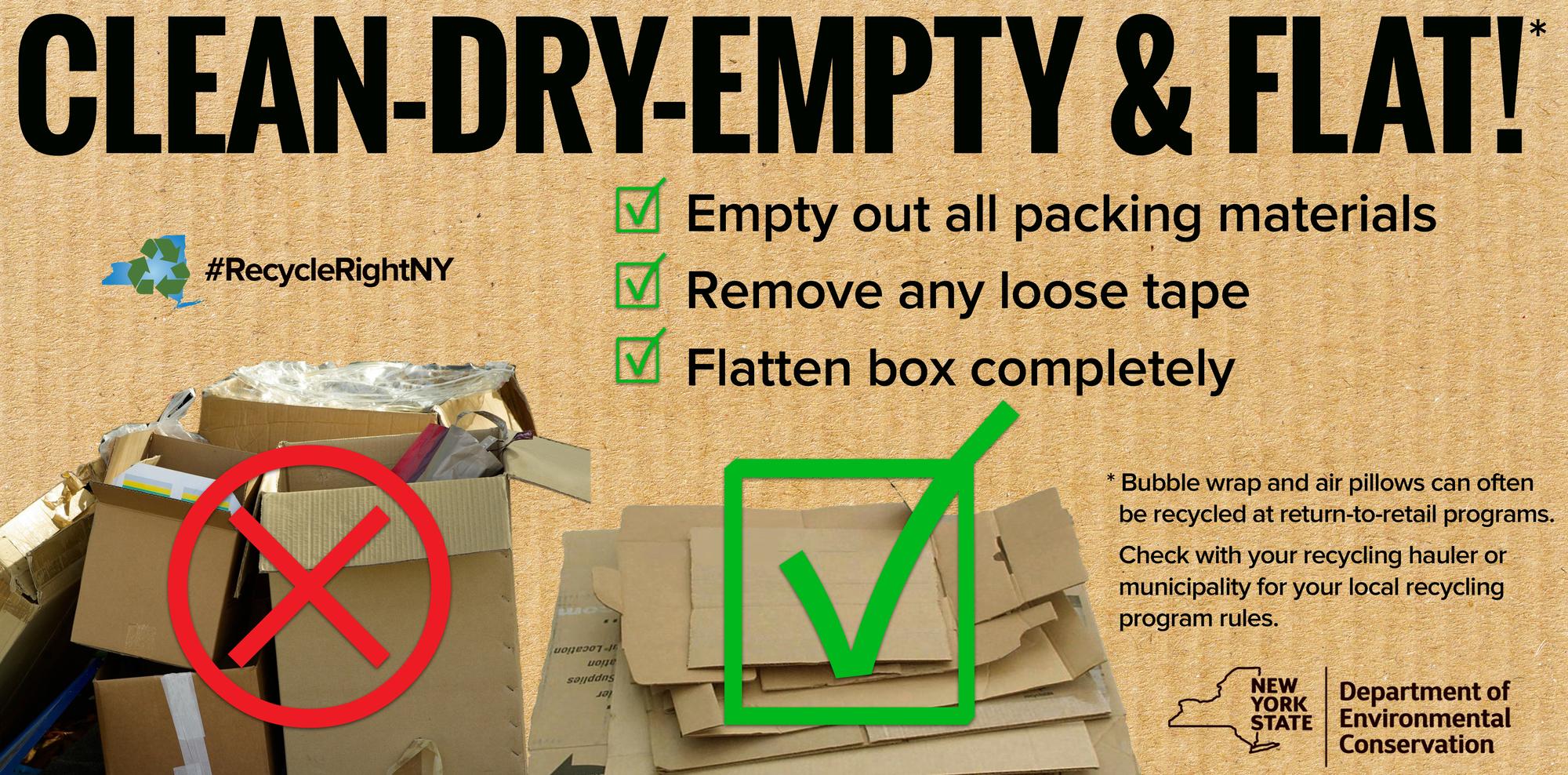 cardboard flat 1
