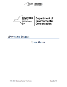 Pesticide's ePayment System User Guide