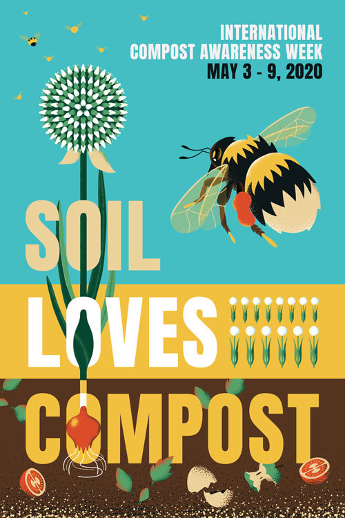 Soil Love Compost Poster