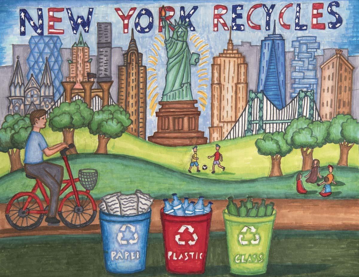 NY Recycles NYS Landscape