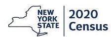 NYS census 2020 logo