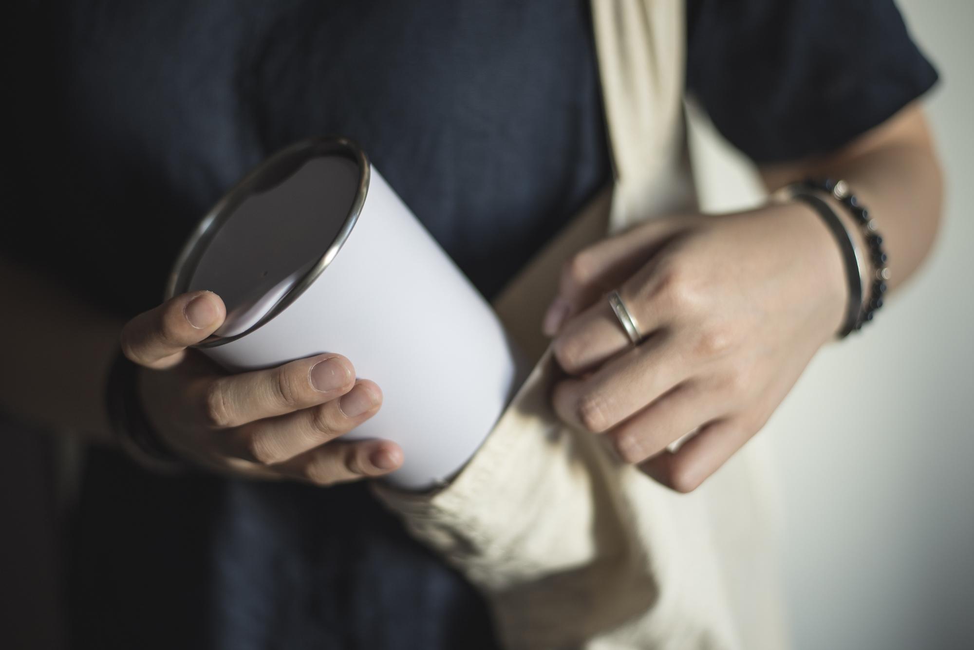 Reusable Mug and Bag