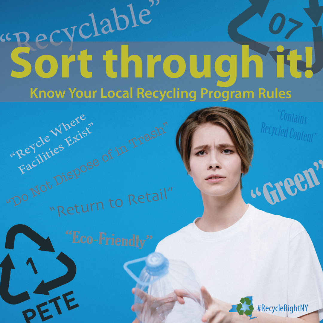 Check local recycling rules to make sure you're recycling right