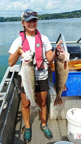 Owasco Lake Fisheries Survey