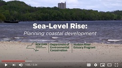 youtube start screen for Sea-Level Rise video