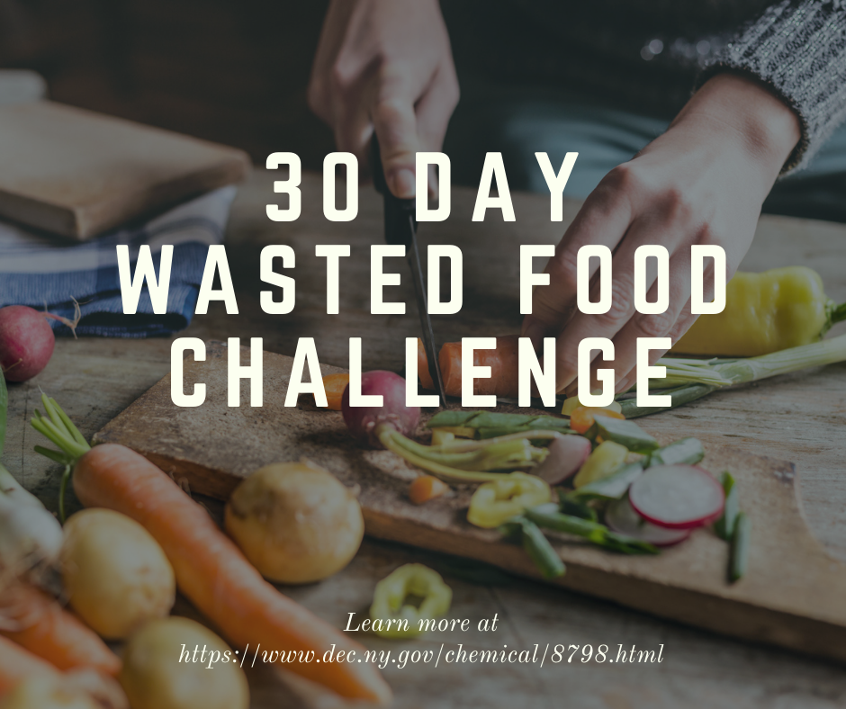 30 Day Wasted Food Challenge