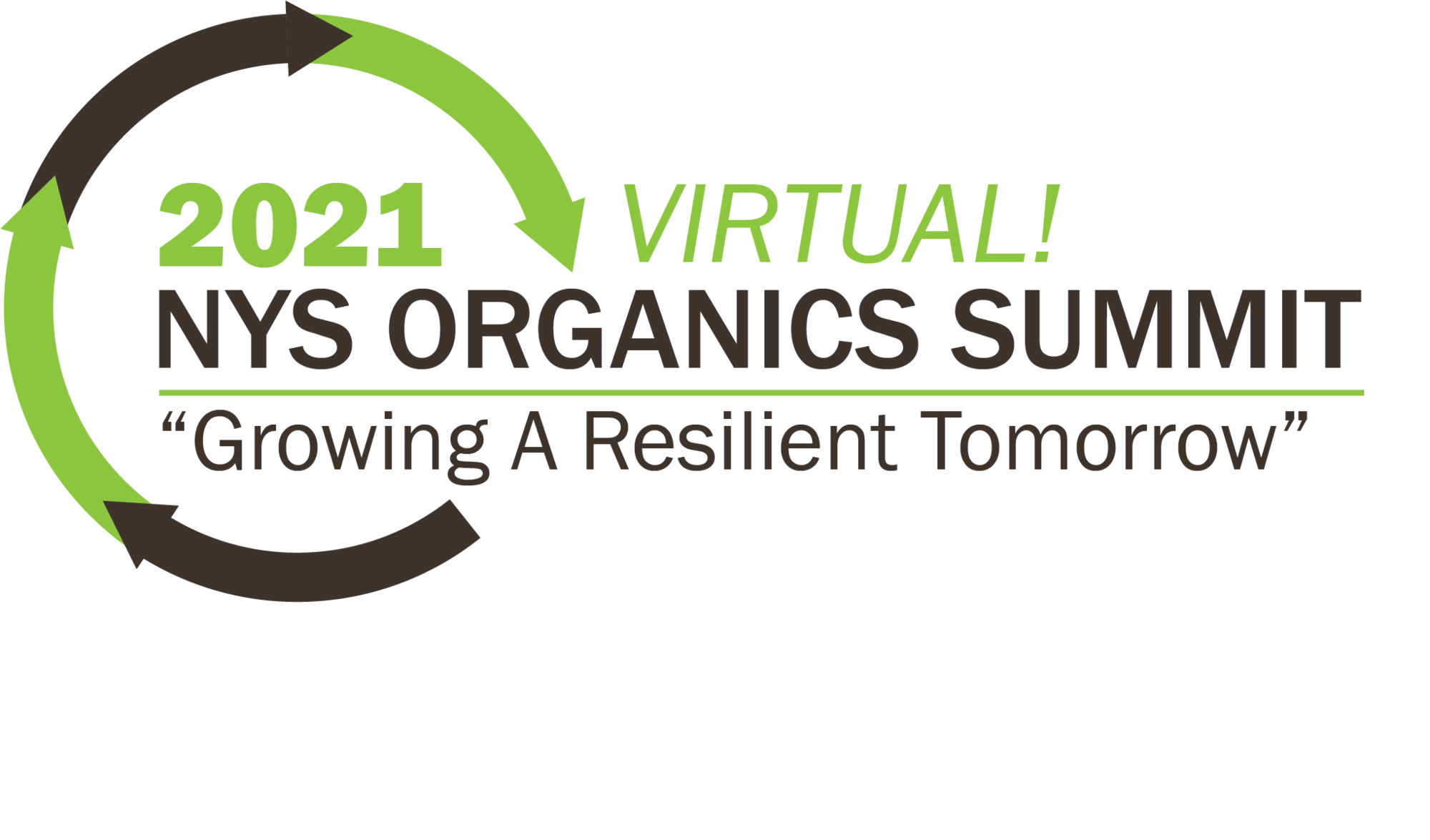 NYS Organics Summit - Growing a Resilient Tomorrow