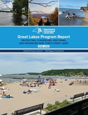 Cover of the Great Lakes Program Report