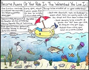 Protect our watershed winning poster