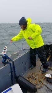 Water Sampling in Western Bays