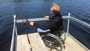 Accessible fishing location