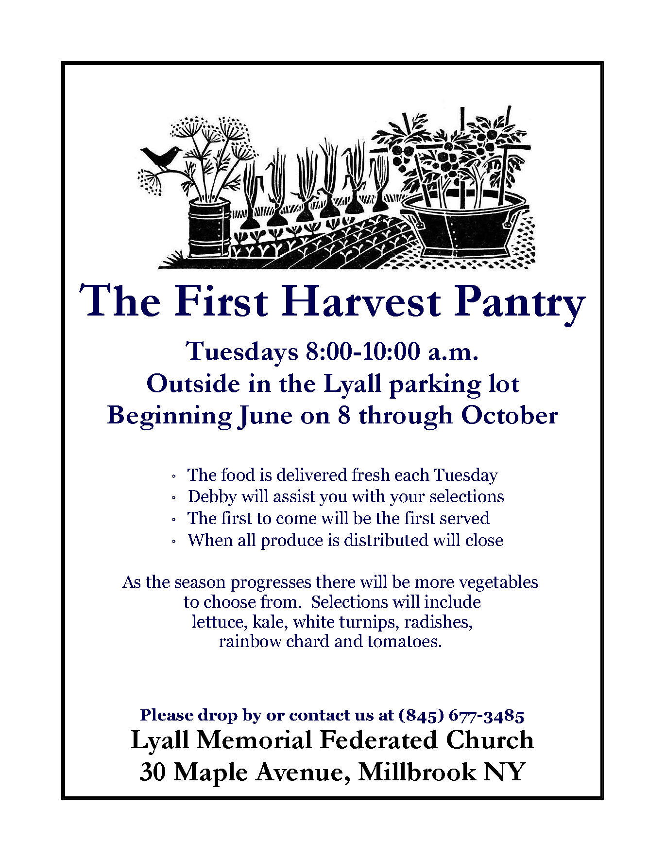 1st harvest Pantry
