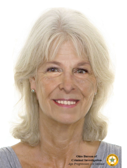 Age-Progression Photograph of Barbara Frame