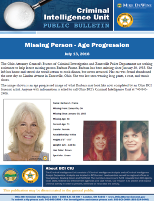 Barbara Frame Public Bulletin
