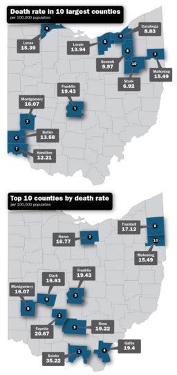 Opioid maps