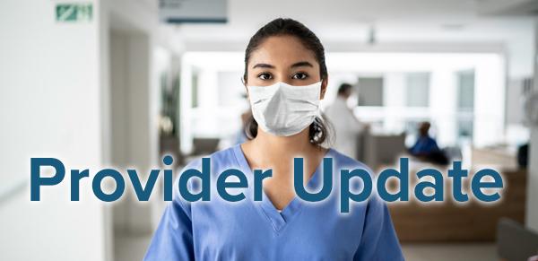 Provider Update