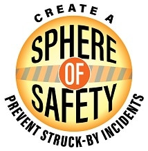 logo for the struck-by hazard stand-down campaign