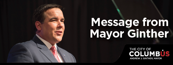 A Message from Mayor Ginther