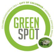 GreenSpot logo with frog in the dot