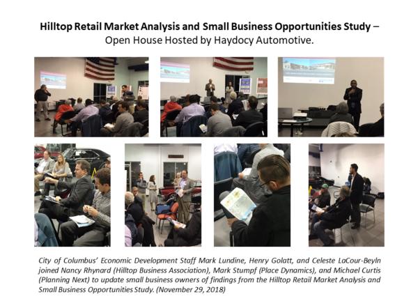Hilltop Market Analysis