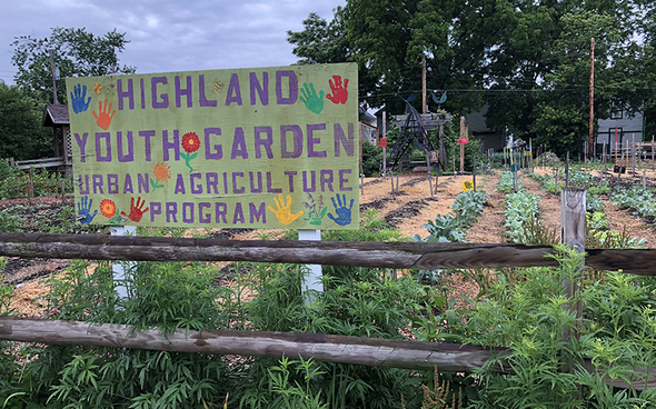 Highland Youth Garden