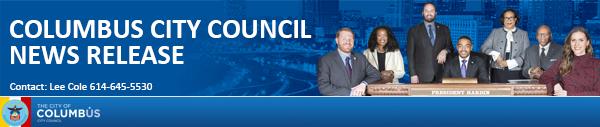 Columbus City Council News Release
