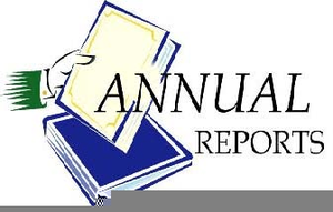 annual report clip art