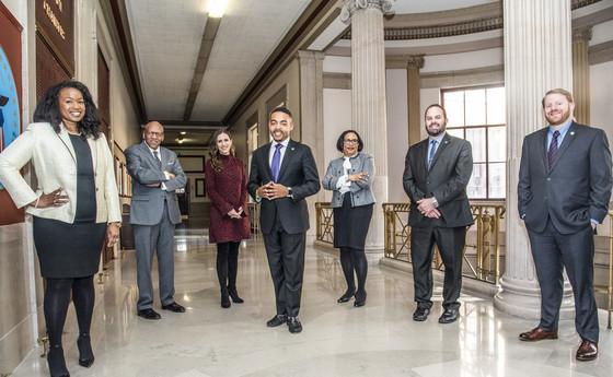 2019 City Councilmembers Hallway
