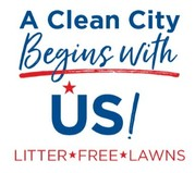 Logo for Litter Free Lawn