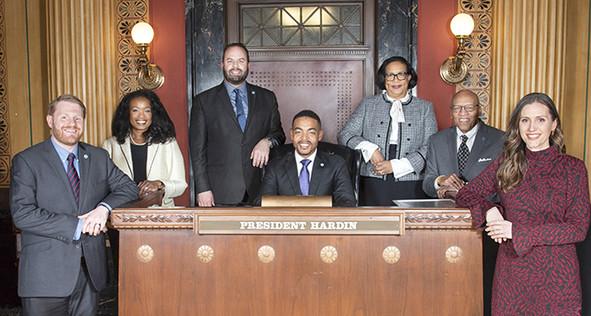 2020 City Council Group