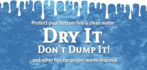 Dry_It_Don't_Dump_It. paint dripping