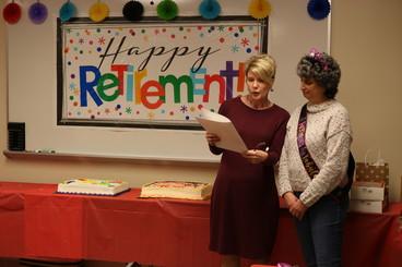 Mary Beth and Director Dorothy Pelanda