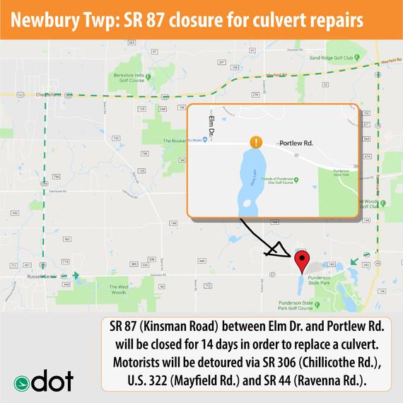 SR 87 Culvert Closure
