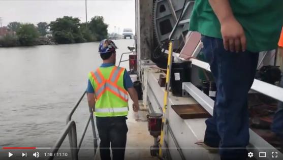 Port Clinton Lift Bridge Tour Video